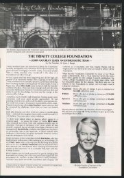 Trinity College Newsletter, vol 1 no 21, July 1983