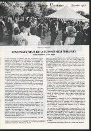 Trinity College Newsletter, vol 1 no 23, December 1983
