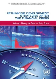 RETHINKING DEVELOPMENT STRATEGIES AFTER THE FINANCIAL CRISIS