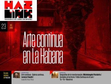 Arte continua en La Habana