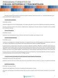 PROGRAMA FORMATIVO DE CIRUGÍA ORTOPÉDICA Y TRAUMATOLOGÍA - Page 7