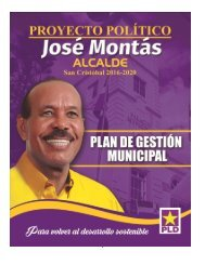 PLAN DE GESTION MUNICIPAL