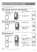 Sony ICD-B500 - ICD-B500 Consignes d'utilisation Slovaque - Page 5