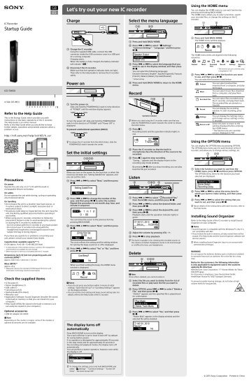 Sony ICD-TX650 - ICD-TX650 Mode d'emploi Espagnol