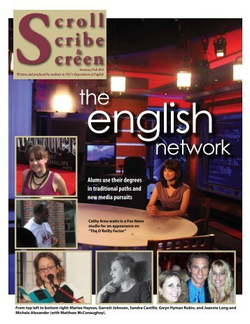 Newsletter Fall 2012 - English - Florida State University
