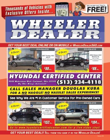 Wheeler Dealer Issue 08, 2016