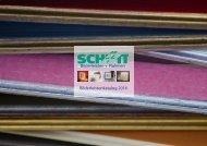 Schütt   Bilderleisten + Rahmen   Katalog 2016
