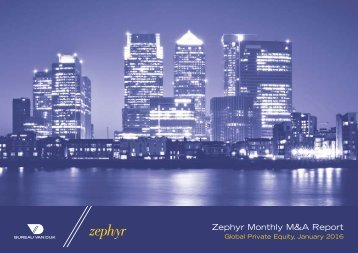 Zephyr Monthly M&A Report