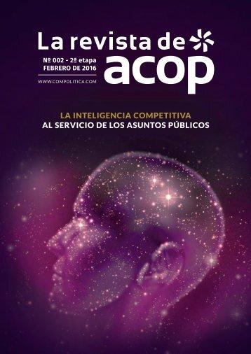 La inteligencia competitiva al servicio de los Asuntos Públicos