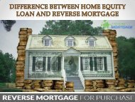 Difference Between Home Equity Loan And Reverse Mortgage