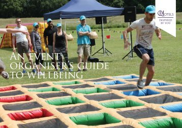 An event organiser's guide to wellbeing