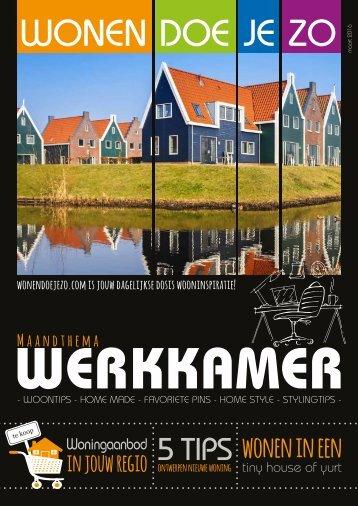WonenDoeJeZo Midden Nederland, editie maart 2016