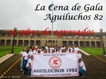 La Cena de Gala Aguiluchos 82