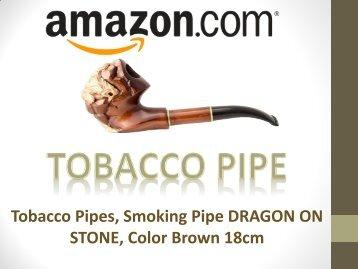 Tobacco Pipes, Smoking Pipe DRAGON ON STONE