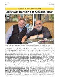 Udo Walz Interview | Bürgerspiegel