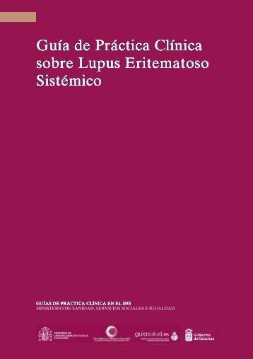 Guía de Práctica Clínica sobre Lupus Eritematoso Sistémico