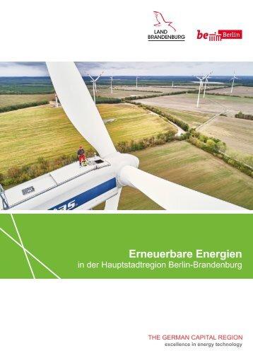 Erneuerbare Energien in der Hauptstadtregion Berlin-Brandenburg