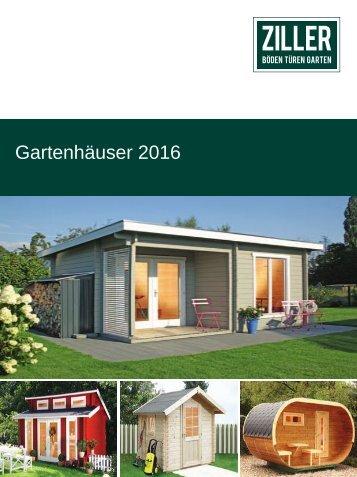 Gartenhäuser 2016