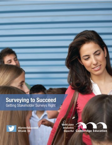 Surveying to Succeed