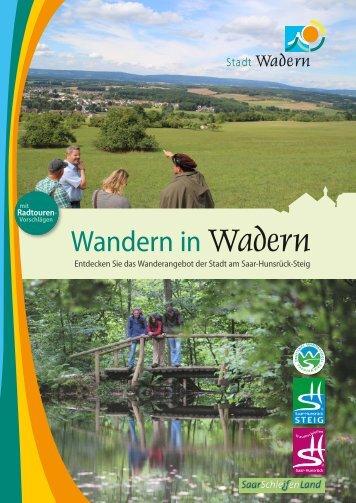Wandern in Wadern