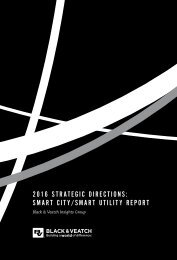 2016 STRATEGIC DIRECTIONS SMART CITY/SMART UTILITY REPORT