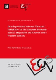 Secular Stagnation and Growth in the Western Balkans