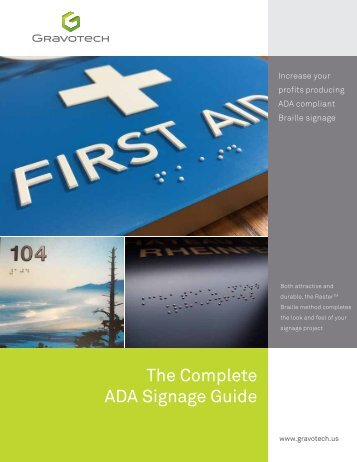The Complete ADA Signage Guide