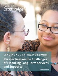 Perspectives on the Challenges of Financing Long-Term Services and Supports