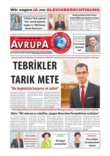 EUROPA JOURNAL - HABER AVRUPA FEBRUAR2016
