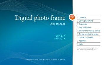 Samsung SPF-87H (LP08IPLEBT/EN ) - Manuel de l'utilisateur(Model code type: LP**IPLS) 8.83 MB, pdf, Anglais