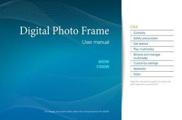 Samsung 800W (LP08WSLSB/EN ) - Manuel de l'utilisateur 9.15 MB, pdf, Anglais