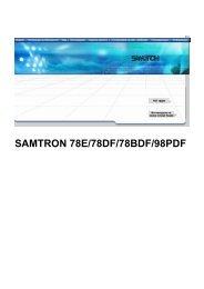 Samsung 78E (LB17LT7B/EDC ) - Manuel de l'utilisateur 3.5 MB, pdf, Français