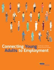 Connecting Young Adults to Employment