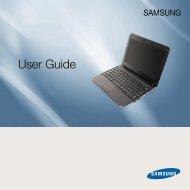Samsung NP-N210P (NP-N210-JP02FR ) - Manuel de l'utilisateur (XP / Windows 7) 13.73 MB, pdf, Anglais
