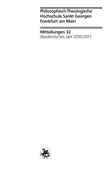 Mitteilungen 32 Akademisches Jahr 2010/2011 Philosophisch ...