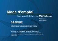 Samsung SL-M5370LX Multifonction Laser Monochrome (53 ppm) (SL-M5370LX/SEE ) - Manuel de l'utilisateur 41.67 MB, pdf, Français