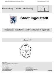 Statistischer Vierteljahresbericht der Region 10 Ingolstadt (11/4