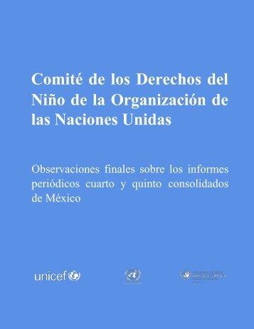 Comité de los Derechos del Niño de la Organización de las Naciones Unidas