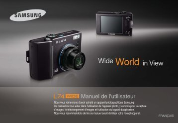 Samsung L74W (EC-L74WZBBA/DE ) - Manuel de l'utilisateur 9.61 MB, pdf, Français