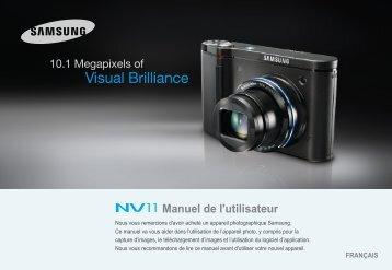 Samsung NV11 (EC-NV11ZBBA/FR ) - Manuel de l'utilisateur 7.97 MB, pdf, Français