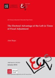 The Electoral Advantage of the Left in Times of Fiscal Adjustment