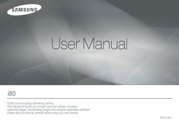 Samsung i80 (EC-I80ZZBBA/E2 ) - Manuel de l'utilisateur 11.31 MB, pdf, Anglais