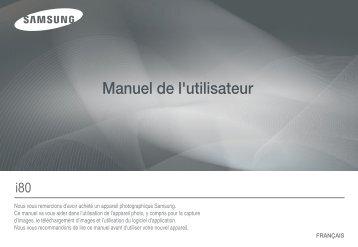 Samsung i80 (EC-I80ZZBBA/E2 ) - Manuel de l'utilisateur 11.78 MB, pdf, Français