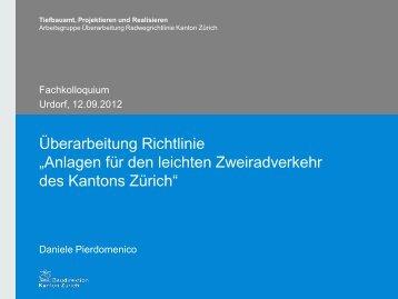 vortrittsberechtigte - Tiefbauamt - Kanton Zürich