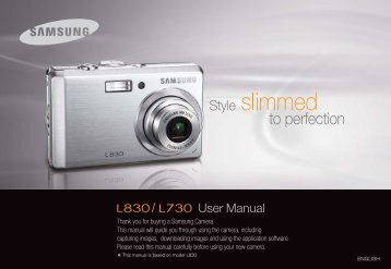 Samsung P83 (EC-P83ZZSBA/FR ) - Manuel de l'utilisateur 10.51 MB, pdf, Anglais