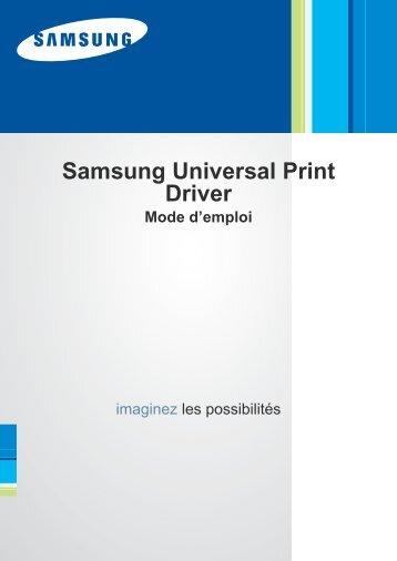 PILOTE IMPRIMANTE SAMSUNG ML-2010R