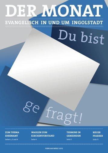 Der Monat Februar / März 2012 - Dekanatsbezirk Ingolstadt