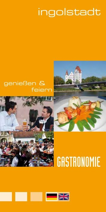 GASTRONOMIE - Ingolstadt Tourismus