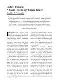 Social Psychology Special Issue - Page 3