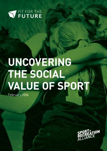 Uncovering the social value of sport